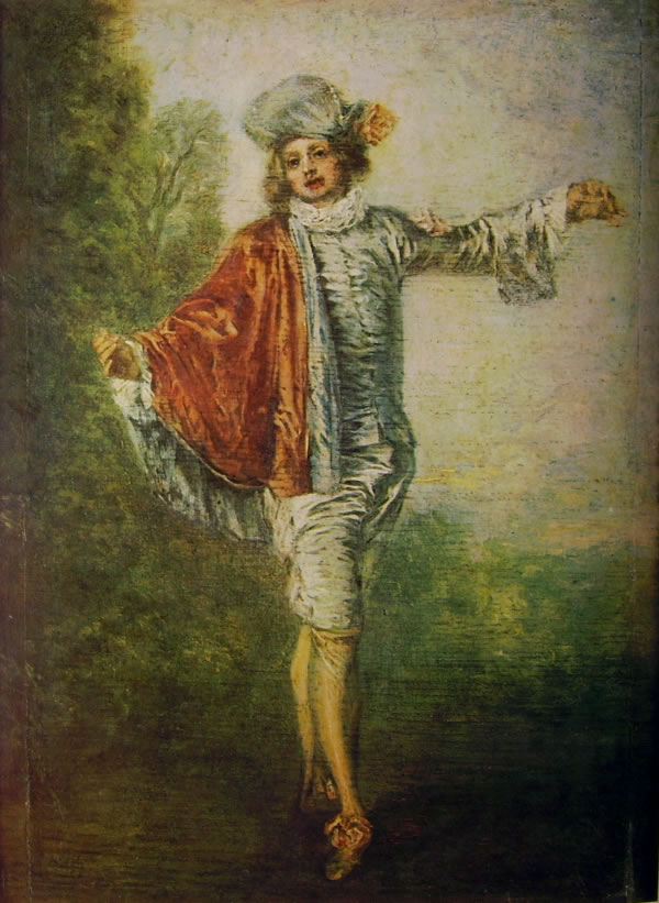 05 Watteau - L'indifferente