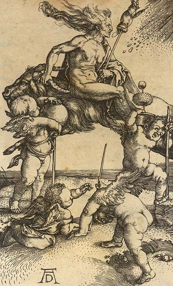 Dürer: Hexe