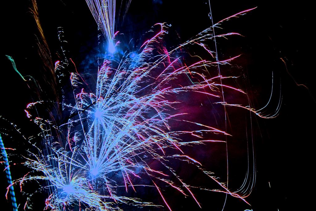 Feuerwerk Sylvester 2014 von beast666