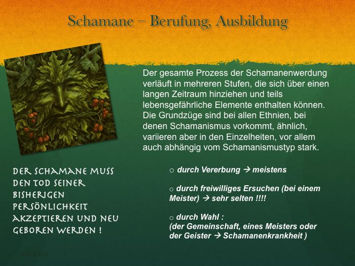 Berufung zum Schamanen