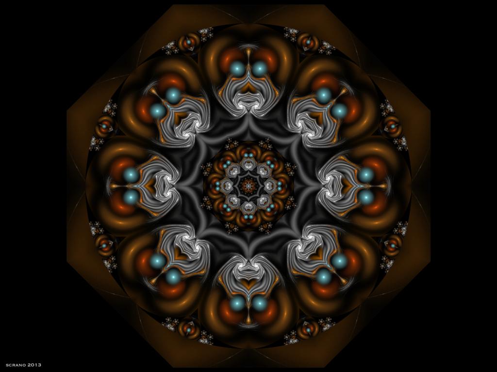 Der Alte der Zeiten.Saturnischer Demiurg ©scrano 2013