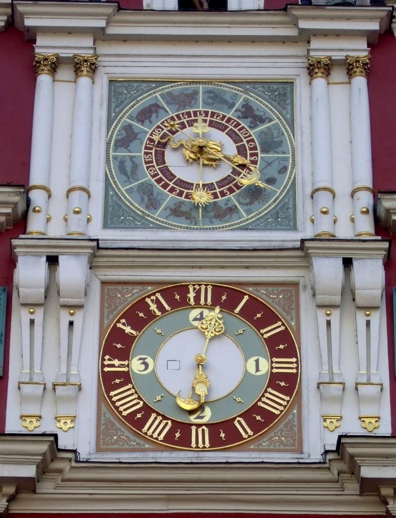 Astrologie-Uhr Esslinger Rathaus