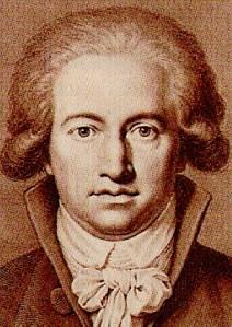 Jugendportrait von Goethe.