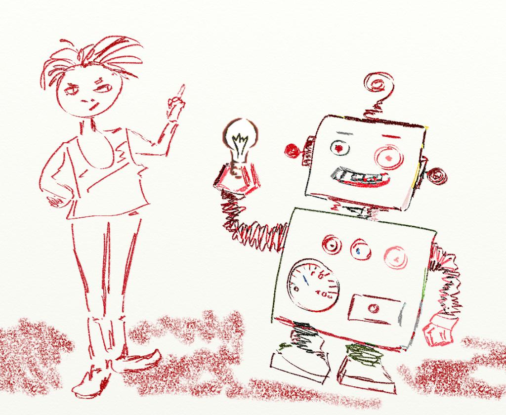 Wasermann-Lösung für das Glühbirnen-Problem: Erfinde einen Roboter, der das für Dich macht .. lol!