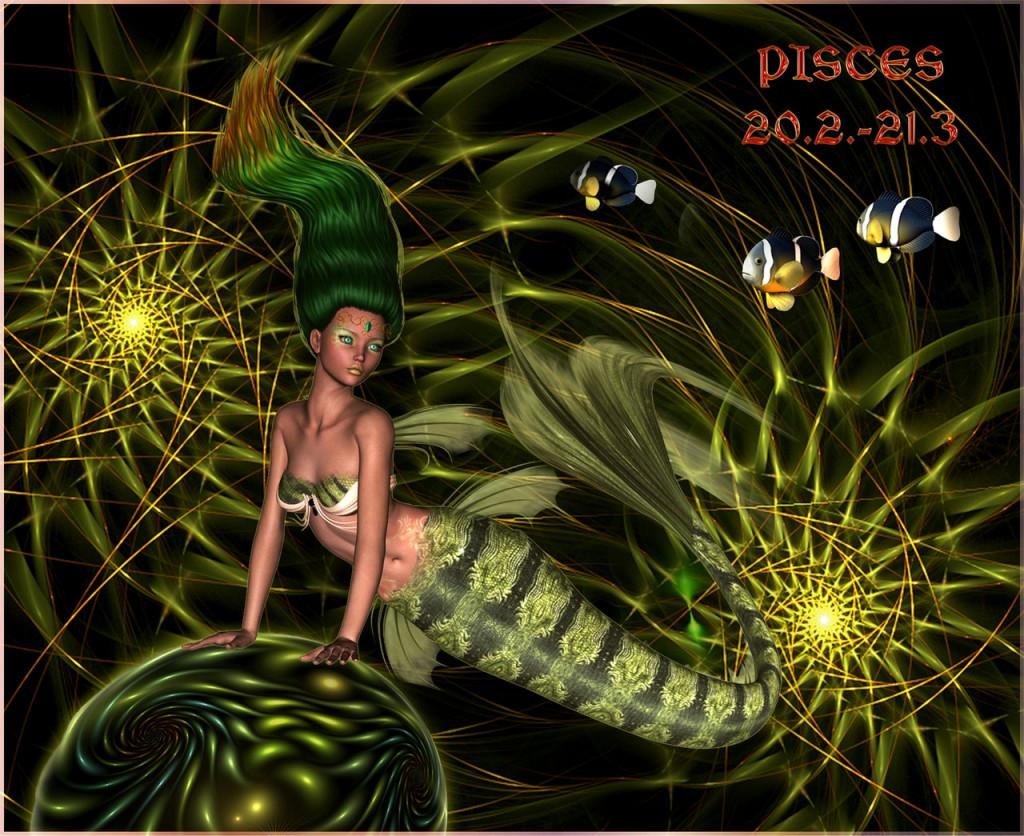 Aus den Tiefen der Weltozeane: Die mythischen Kreaturen Neptuns.Pisces ©scrano 2015 mermaid: sweetpoison67