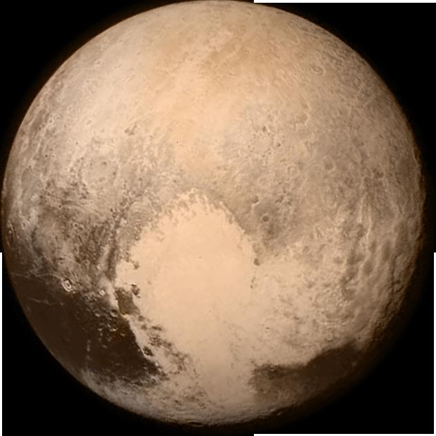 Pluto-transparent