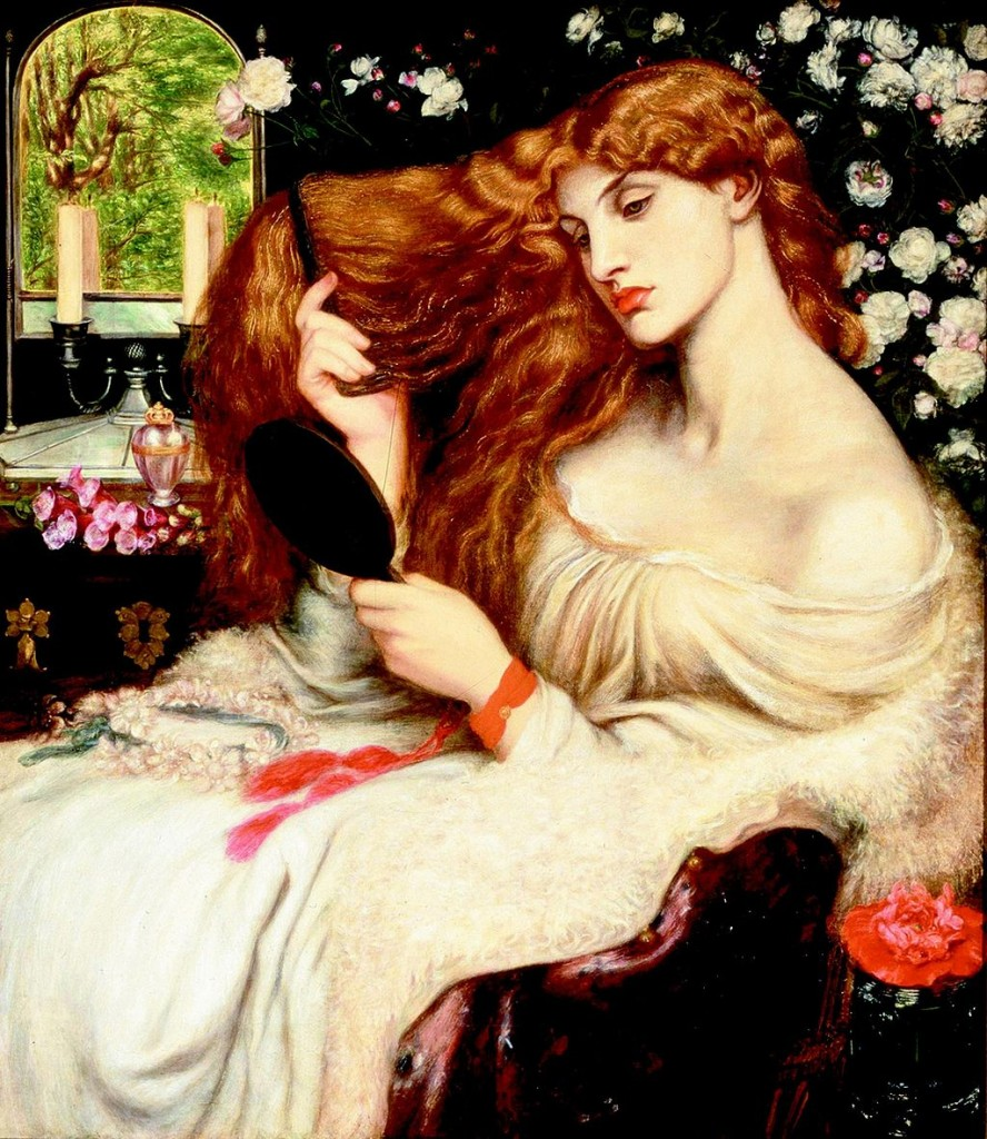 Dante Gabriel Rossetti [CC BY-SA 3.0 (http://creativecommons.org/licenses/by-sa/3.0) or GFDL (http://www.gnu.org/copyleft/fdl.html)], via Wikimedia Commons