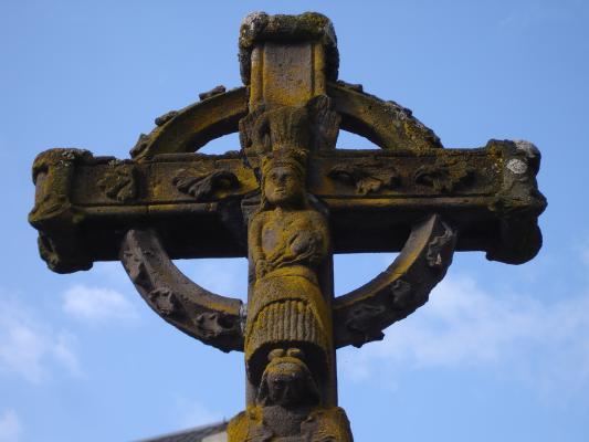 Christliches Keltenkreuz : Jesus als solarer Heros.