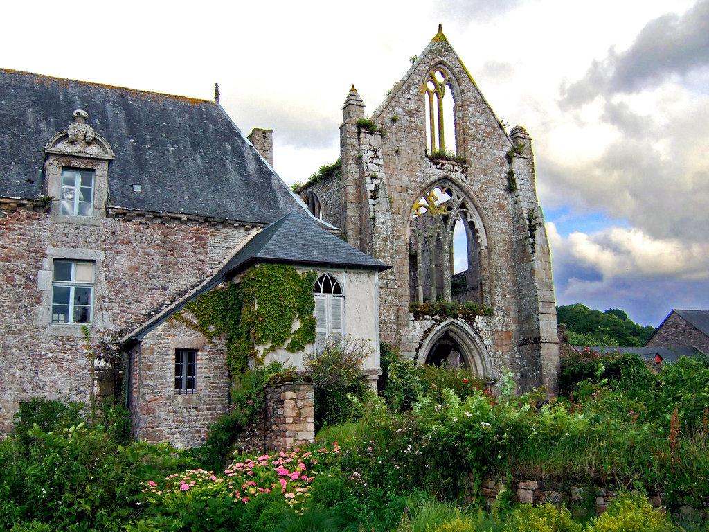 Malerische Ruine: Abbaye Beauport, bei Paimpol.