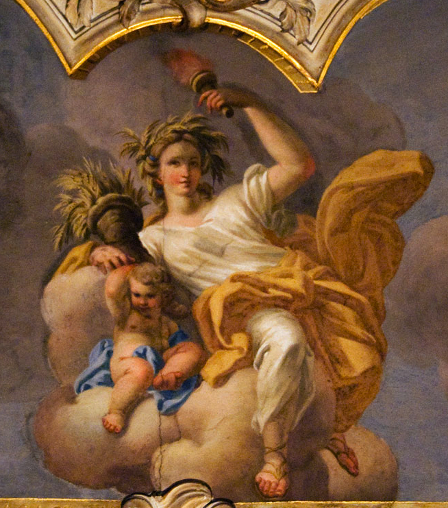 Demeter/Ceres, ein Aspekt der Sternjungfrau-Mythologie.