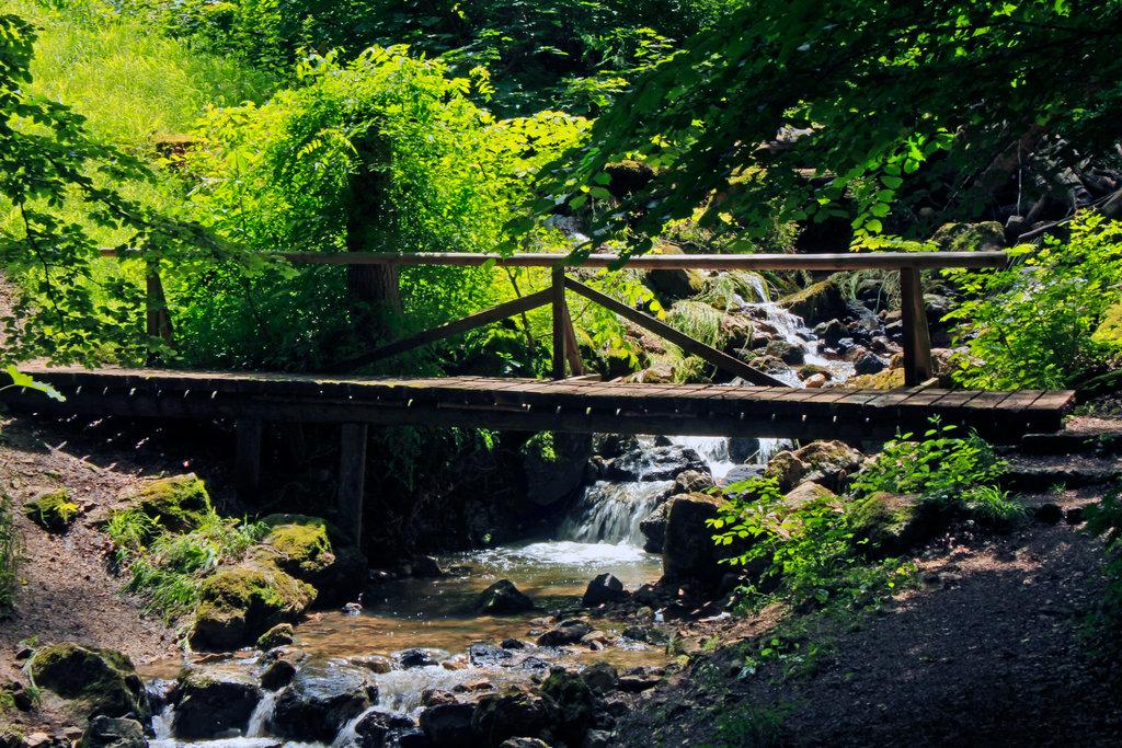 Zipfelbach-Schlucht Brücke.©beast666 2015