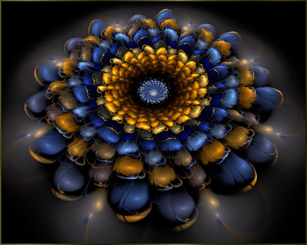 Cosmic Flower ©scrano 2014