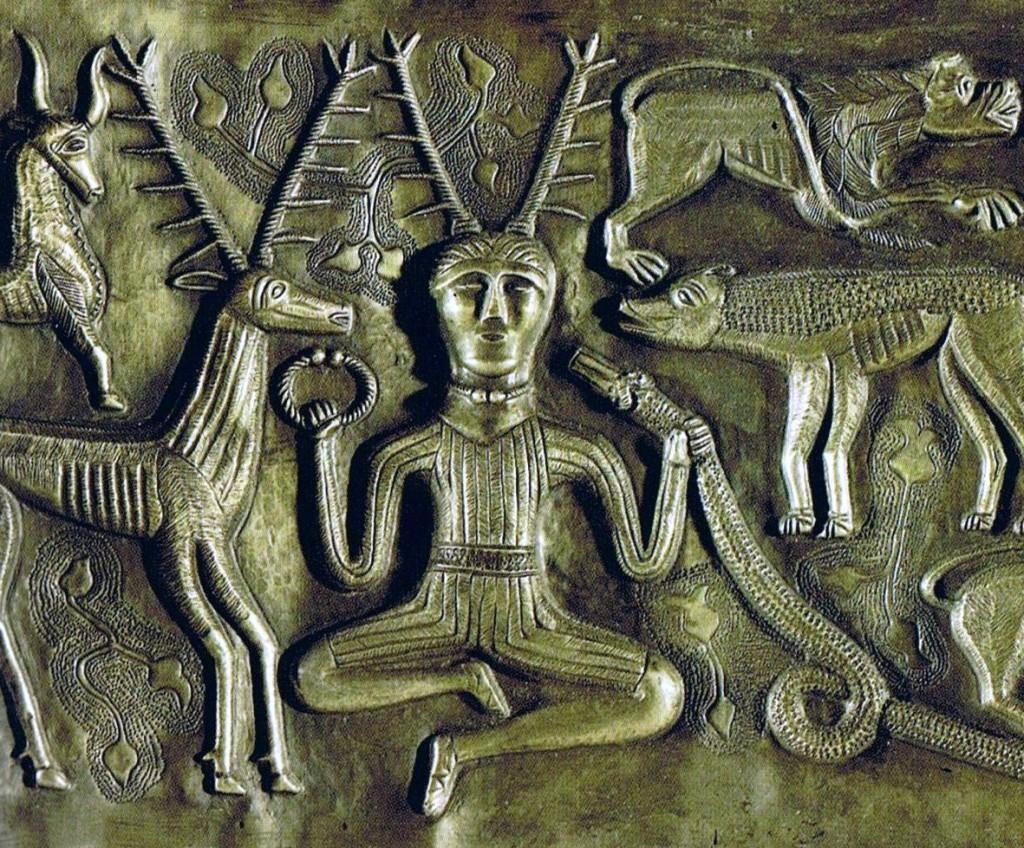 Keltischer Herr der Tiere: CernunnosQuelle: wiki