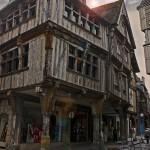 Altes Haus in Dinan.
