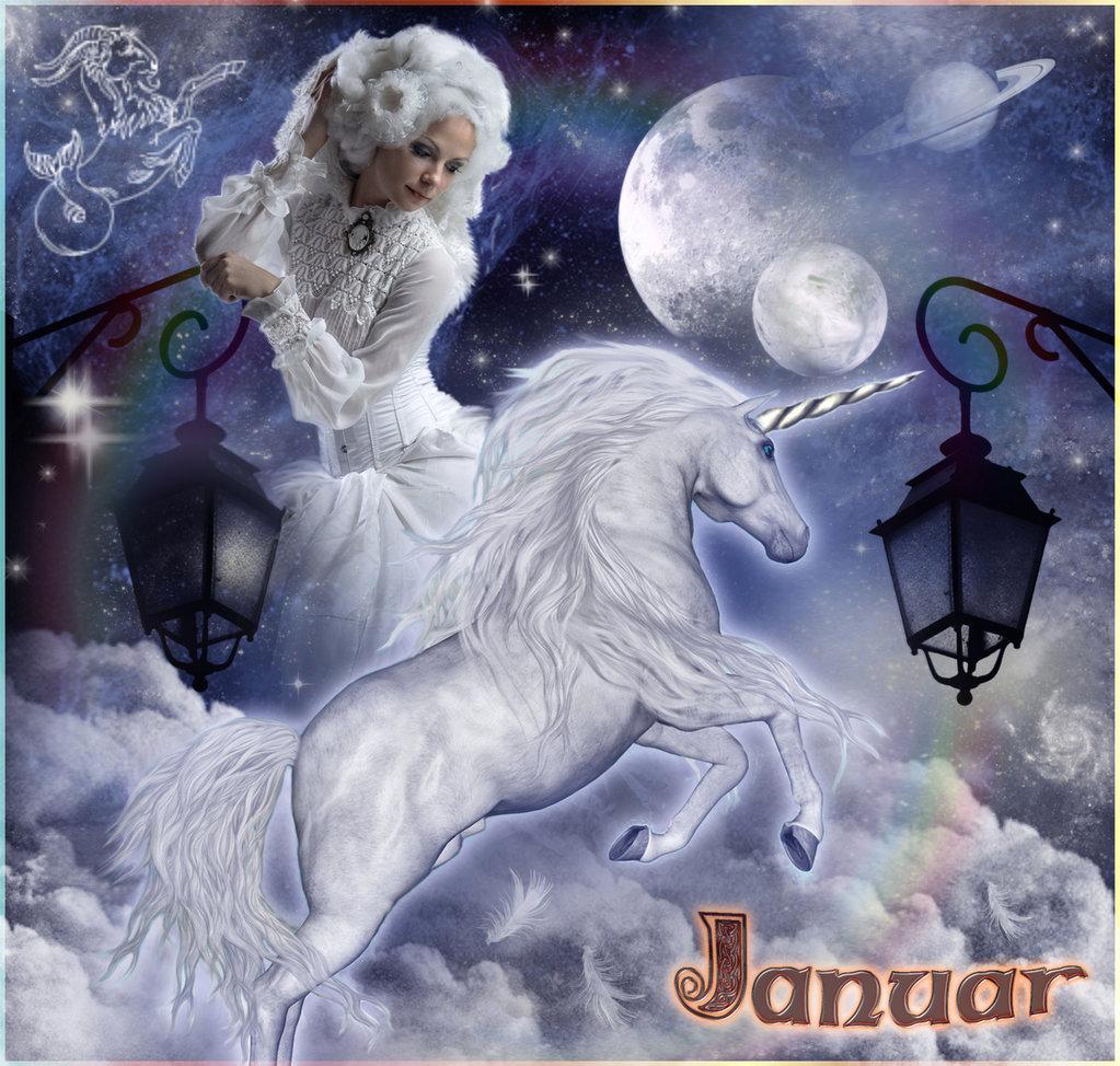Januar: Saturn-Zeit und Monat des römischen Janus.
