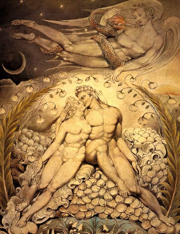 Adam und Eva William Blake