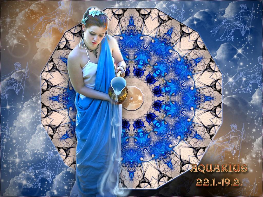 Eine Wasserfrau! Aber das nimmt das Uranus-beherrschte Zeichen sowieso nicht so genau.Aquarius ©scrano 2016