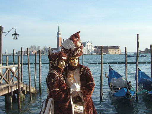 Karneval in Venedig, wohl der stilvollste der Welt. Obwohl in der Vergangenheit durchaus Orgien gefeiert wurden.