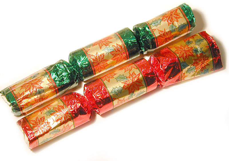 Christmas Crackers aus UK.quelle:wiki