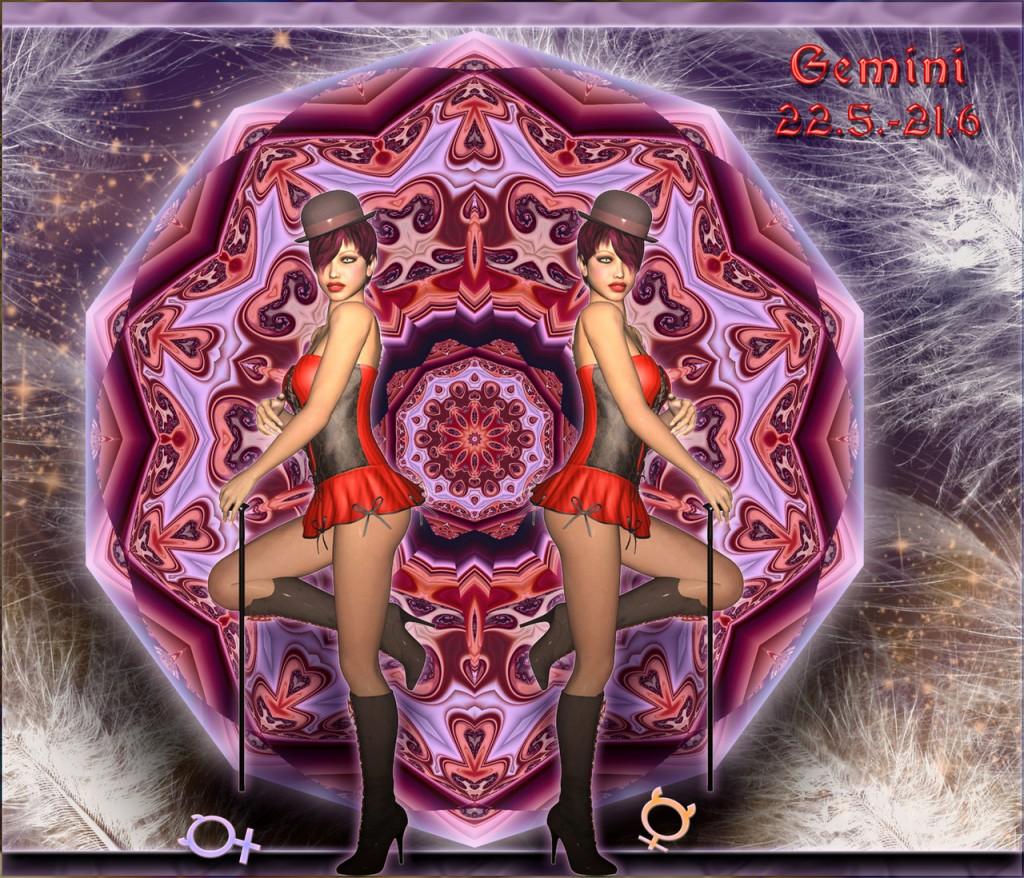 Gleich und doch verschieden: Rätselhafte Dualität der Zwillinge.Gemini ©scrano 2016