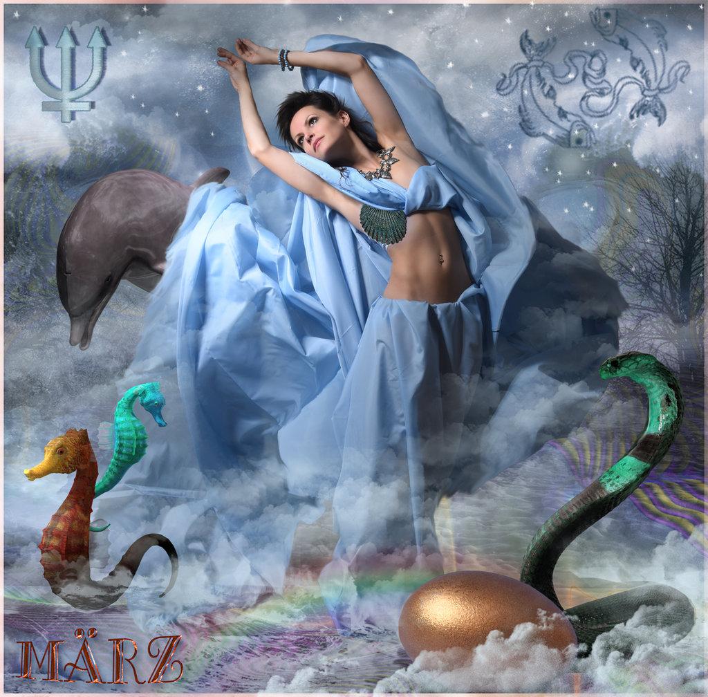 Es tanzt die Göttin … Eurynome aus dem orphischen Schöpfungsmythos.März ©scrano 2016