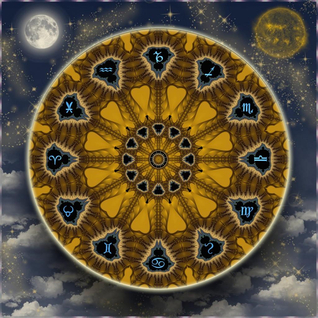 Symbolik des Zodiak - Glyphen mit interessanter Herkunft.Secret of Hermes Trismegistos ©scrano 2015