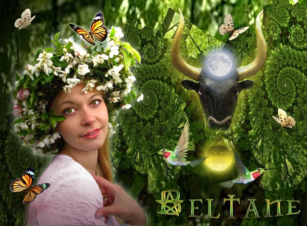 Beltane - jetzt beginnt der keltische Sommer, er dauert ein halbes Jahr. Beltane ©scrano 2016