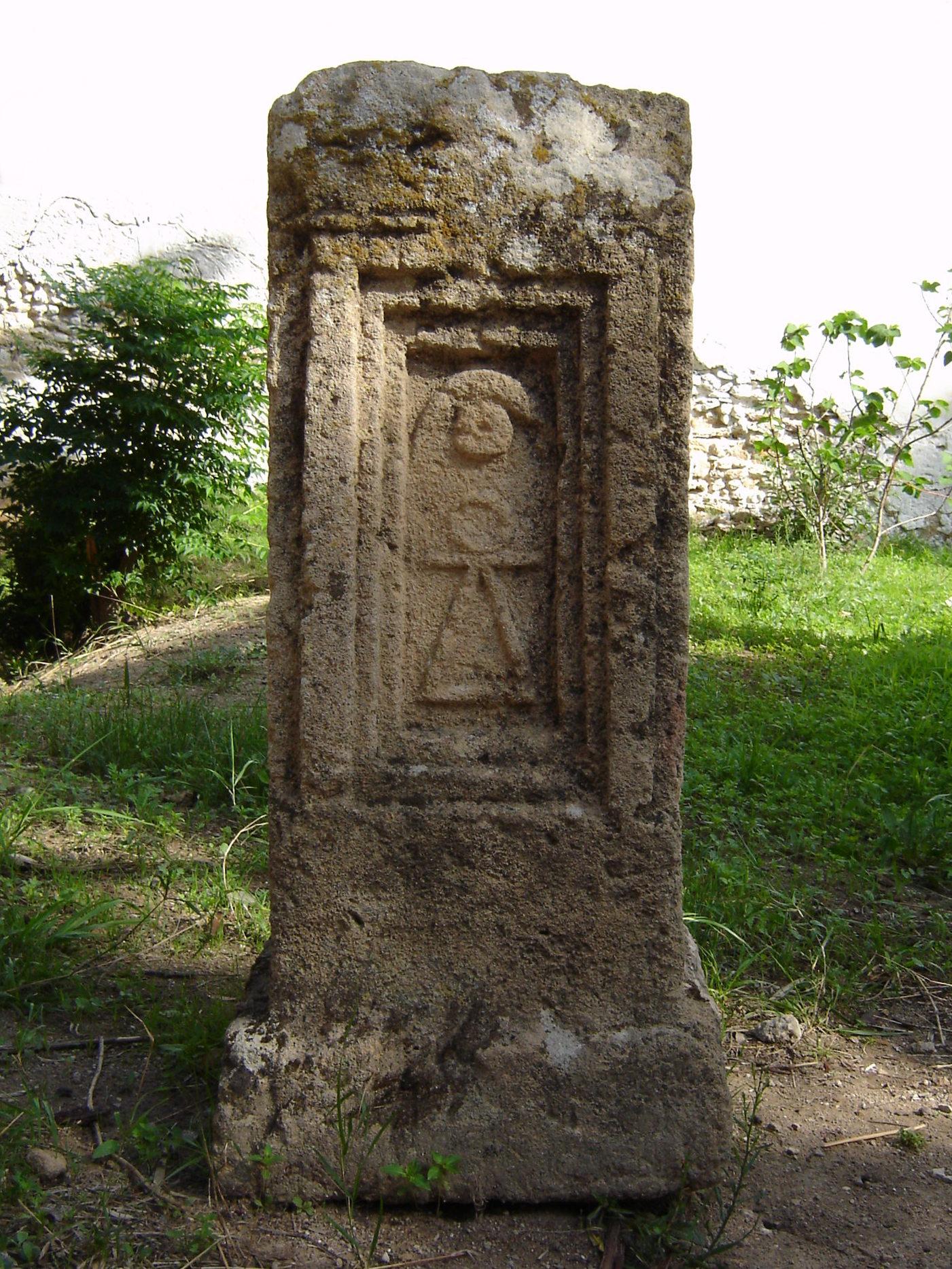 Tanit-Stele von einem sogenannten Tophet.