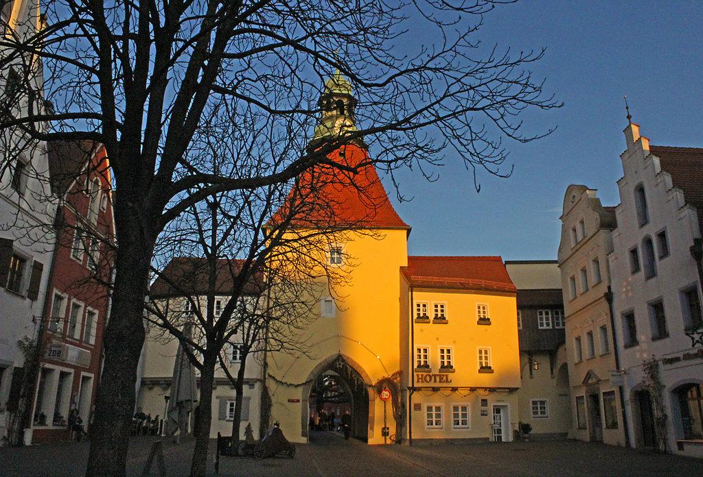 Weiden, Oberes Tor des alten Marktplatzes.