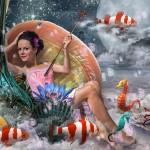 Mutter Ozean und Mondin herrschen: Juli.
