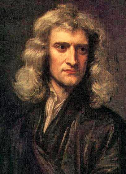 Sir Isaac Newton quelle:wiki