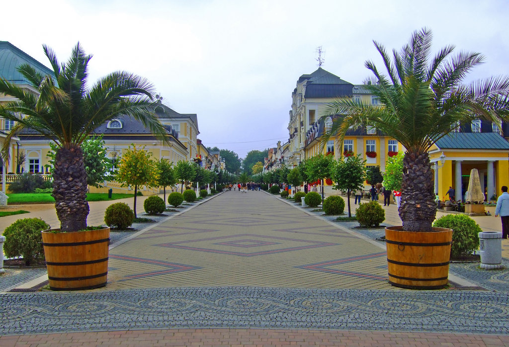 K.u.K Seeligkeit: Franzensbad in Böhmen, Tschechische Republik.