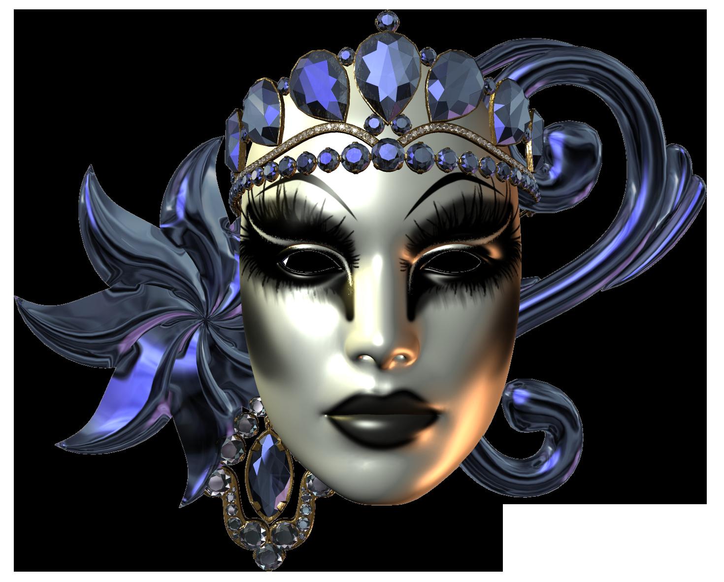 Beautiful_Carnival_Mask_PNG_Clip_Art_Image
