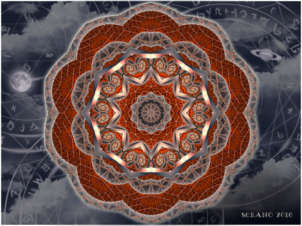 From Tesla with LOve …Steampunk Mandala @scrano 2016